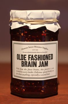 Olde Fashioned Brain Jam from Hoxton Street Monster Supplies