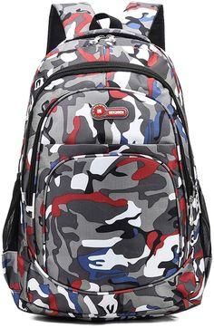 krstay Hommes Multifonction Sacs /à Dos Loisir Nylon Etanche Daypack Mode Alpinisme Sac /à Dos /Étudiants Portatif Sac /à Dos de Sport