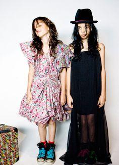 RockSon \ Girls play dress up!