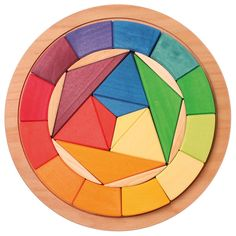 Puzle de madera c�rculo - Grimm's