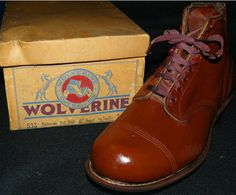 1940s Wolverine 1000 Mile Boots
