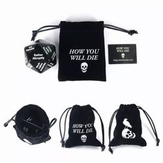 """The """"How You Will Die"""" die High Roller, Dice Bag, February, Universe, Ship, God, Play, Math, Products"""