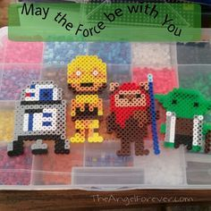 Star Wars perler beads by theangelforever