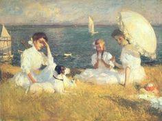 Frank Weston Benson (American 1862–1951) Summer Afternoon, 1906.