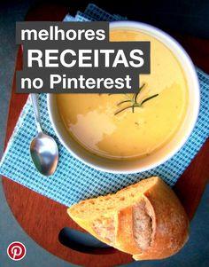 Conheça o novo perfil do Pinterest Brasil, somente com receitas deliciosas para testar!
