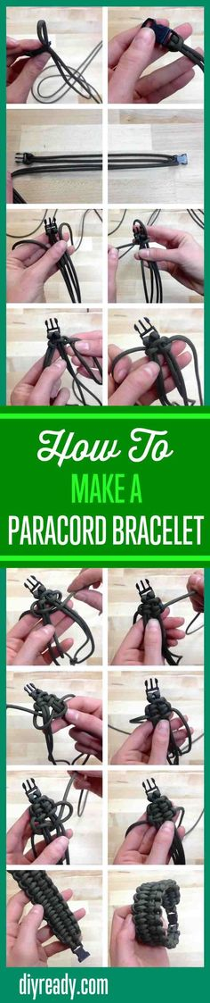 How To Make A Paracord Survival Bracelet For Emergency Preparedness Projects By DIY Ready. http://diyready.com/how-to-make-a-paracord-bracelet-blaze/