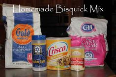 Homemade Bisquick Mix   Better than the box!   Photo