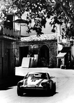 Gijs van Lennep in the Targa Florio, Sicily 1973