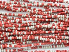 Happy Mango Beads - Small Red