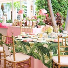 I saw this @palmbeachlately on @vividhuehome this morning and have need obsessed with this fab flamingo and palm beach theme party! Ready for spring and a perfectly pink party ... this afternoon, please! // on another note, y'all are amazing and ordering our Valentine cups and napkins like crazy today! Thank you! We have a limited qty since it is just about 3 weeks away ... We think we have enough, but order soon if you definitely want them for a party or gifting! ❌⭕️