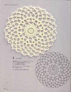 unidade de crochê tricô padrão (1) - Basil - blog de manjericão