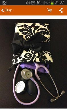 Nurse purse. Good for nursing school.