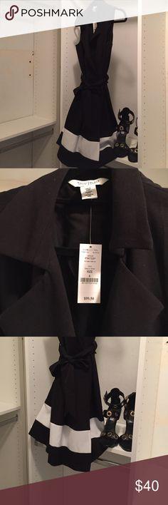 Black and white dress Black and white sleeveless dress [No Trades] White House Black Market Dresses Midi