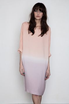 Second Female - Yoo Dip-Dye Dress via @shopacrimony