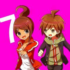 Makoto and Hina (Asahina)<<<I remember that ship sailing... Not enough condoms/birth control, was there, Hina?