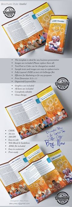 Brochure Trifold, Text Fonts, Business Presentation, Organization, Templates, Facebook, Getting Organized, Organisation, Stencils