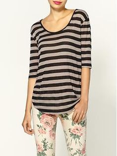 new Nation LTD at Piperlime! Love our Key West tee in sheer stripe.