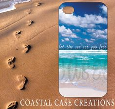 Apple iPhone 4 4G 4S 5G Hard Plastic Cell by CoastalCaseCreations, $16.00