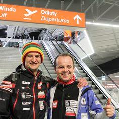 Adam Bielecki i Jacek Czech
