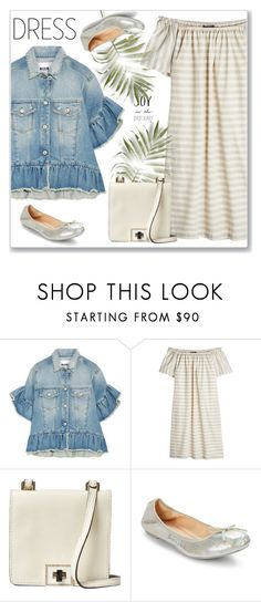 """Spring Trend: Off-Shoulder Dresses"" by andrejae ❤ liked on Polyvore featuring MSGM, Steffen Schraut, Valentino, Cole Haan, polyvoreeditorial, polyvorecontest and offshoulderdress"