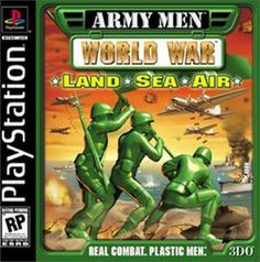 Title: Army Men: World War -- Land, Sea, Air (Sony PlayStation 1, 2000) UPC: 790561512110 Condition: Good - Pre-owned. Game Disc and Paper Sleeve Only. No Box, No Instruction Manuel. Item Tested and W