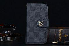 iPhone8/7S/7/6S/6/Plus Wallet Case LV PU Black