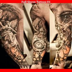 Full Sleeve Tattoos 01