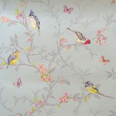 Holden Decor Phoebe Wallpaper - Soft Teal 98083