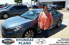 https://flic.kr/p/FQJSYj | #HappyBirthday to Stephanie  from Frank White at Huffines Hyundai Plano! | deliverymaxx.com/DealerReviews.aspx?DealerCode=H057