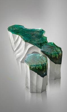 DelMare Furniture Collection by Romanian Sculptor & Designer Eduard Locota.