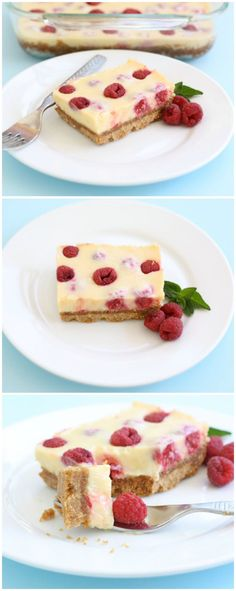 Lemon Raspberry Bar Recipe on http://twopeasandtheirpod.com. Love these easy bars! A great dessert for parties or any day!