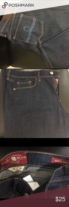 Lucky Brand Sofia Boot Jeans Lucky Brand Sofia Boot Jeans. Size 6/28 regular. In great condition and never dried. Lucky Brand Jeans Boot Cut