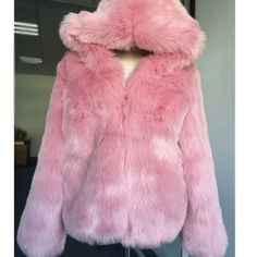 Cheap faux fox fur coat, Buy Quality pink fur coat directly from China fur coat Suppliers: Fashion Winter Faux Fox Fur Coat Women Autumn Parkas Warm Thicken Shorts Hooded Jackets Black Pink Fur Coats Female Streetwear Pink Fur Coat, Fox Fur Coat, Pink Coats, Streetwear, Faux Fur Hooded Coat, Hooded Jacket, Winter Coats Women, Coats For Women, Cowls