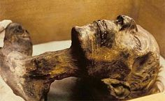 Mummy of Pharaoh Ramses II or Ramses the Great. Ruled during the 19th Dynasty.