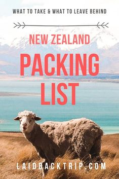Ultimate New Zealand Packing List — LAIDBACK TRIP - - Here is our ultimate packing list for road tripping, hiking, camping, and backpacking in New Zealand including tried and tested tips and advice on what to pack and what to leave behind. Backpacking Packing List, Packing List For Disney, Ultimate Packing List, Packing List For Vacation, Packing For A Cruise, Travel Packing, Travel Tips, Travel Destinations, Travel Backpack