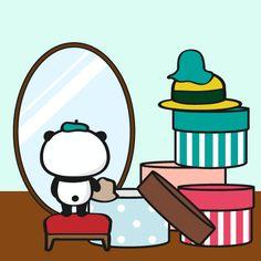 帽子の日 LINEスタンプで大人気!毎日更新「今日のお買いものパンダ」を見逃すな!今まで明かされなかったお買いものパンダの生態も少しだけ公開!