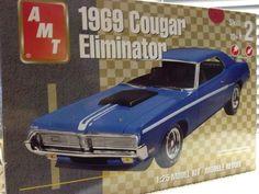 AMT-ERTL 1969 Mercury Cougar Eliminator Model Kit 1/25th 2004 Release #AMTERTL
