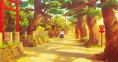 "ghibli-collector: ""The Art Of From Up on Poppy Hill - Dir. Hayao Miyazaki, Studio Ghibli Background, Up On Poppy Hill, Isao Takahata, Studio Ghibli Art, Ghibli Movies, Howls Moving Castle, Spirited Away, Anime Scenery"