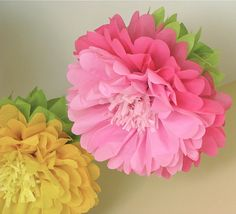 108 Best Tissue Paper Flowers Images Artificial Flowers Paper