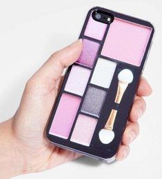 Have you ever imagined an EYE-SHADOW PANEL as your smart phone cover? Check out this article...