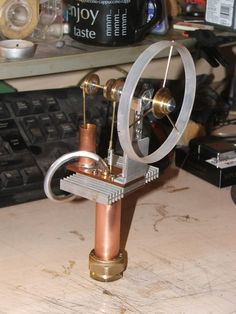 Build your own Stirling Engine out of scrap!