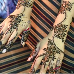 Modern Henna Designs, Latest Arabic Mehndi Designs, Floral Henna Designs, Henna Art Designs, Mehndi Designs 2018, Mehndi Designs For Beginners, Mehndi Designs For Girls, Mehndi Designs For Hands, Mehandi Designs