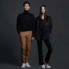 Asian Actors, Korean Actors, Korean Actresses, Movie Couples, Cute Couples, Draw The Squad, Weightlifting Fairy Kim Bok Joo, Kdrama Actors, Its Okay