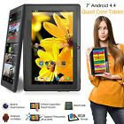 "7"" Inch 8GB Android Tablet Quad Core 4.4 Dual Camera Bluetooth Wifi Tablet Black"