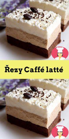 Rezy Caffé latté Cheesecake, Food, Cheesecakes, Essen, Meals, Yemek, Cherry Cheesecake Shooters, Eten