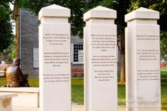 Frank O'Bannon Memorial in Corydon, #Indiana: An Inspiration -- Very moving! So well done!