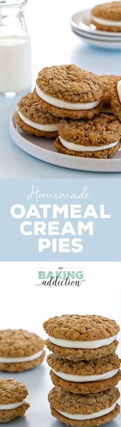 Forget Little Debbie, fresh, homemade Oatmeal Cream Pies are where it's at. So delish!