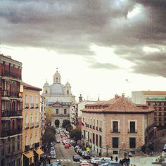 Barrio de Latina desde la terraza de El Viajero. (Del álbum de instagram de @rafamerino)