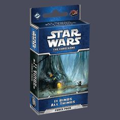 Star Wars LCG: It Binds All Things Force Pack   Book cover and interior art for Star Wars RPG - Roleplaying Game, Role Playing Game, Living Card Game, LCG, d20, d6, science fiction, Open Game License, OGL, Fantasy Flight Games, FFG, Fantasy Flight Publishing Inc.   Create your own roleplaying game books w/ RPG Bard: www.rpgbard.com   Not Trusty Sword art: click artwork for source