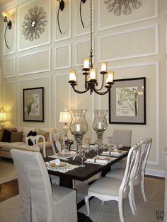 Helen Piteo Interiors, HPI, Interior Design, Traditional Dining Room,  Elegance, Chandelier, Drapery On Hidden Hardware, Fabulous Entry | Pinterest